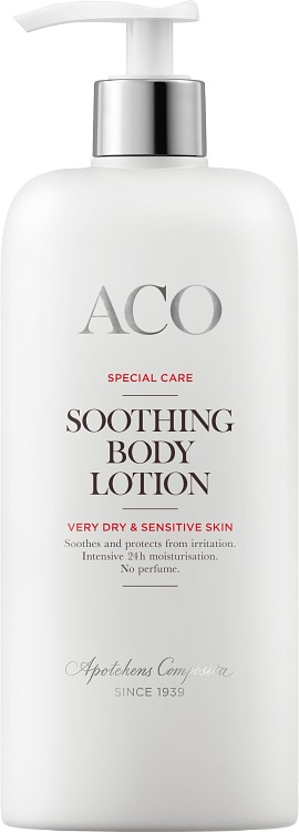 ACO Special Care Soothing bodylotion oparfymerad 400 ml