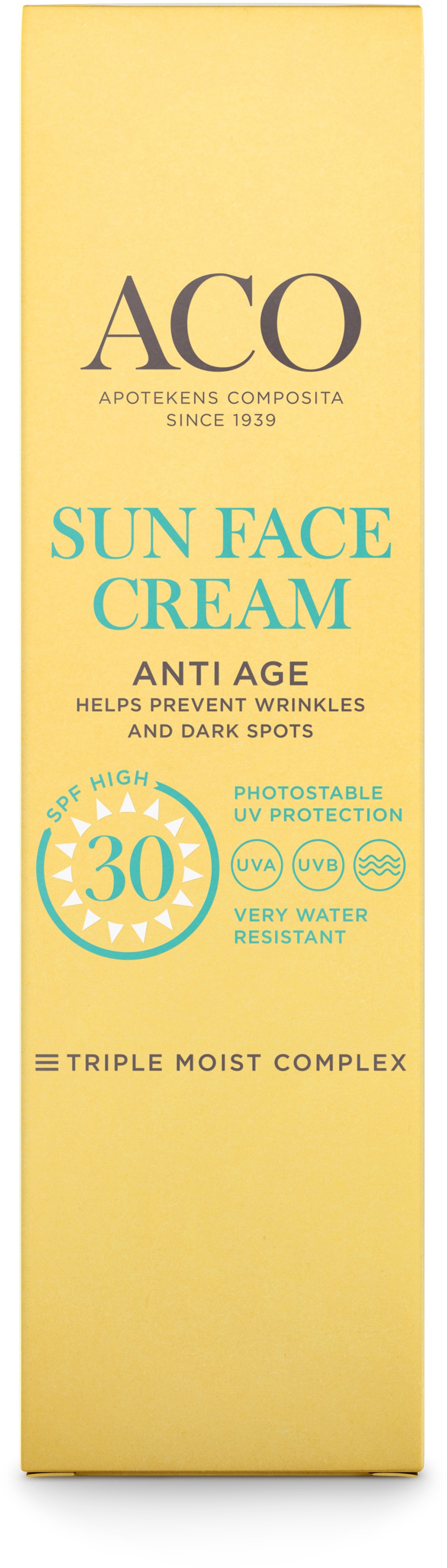 ACO Sun face cream anti age 40 ml