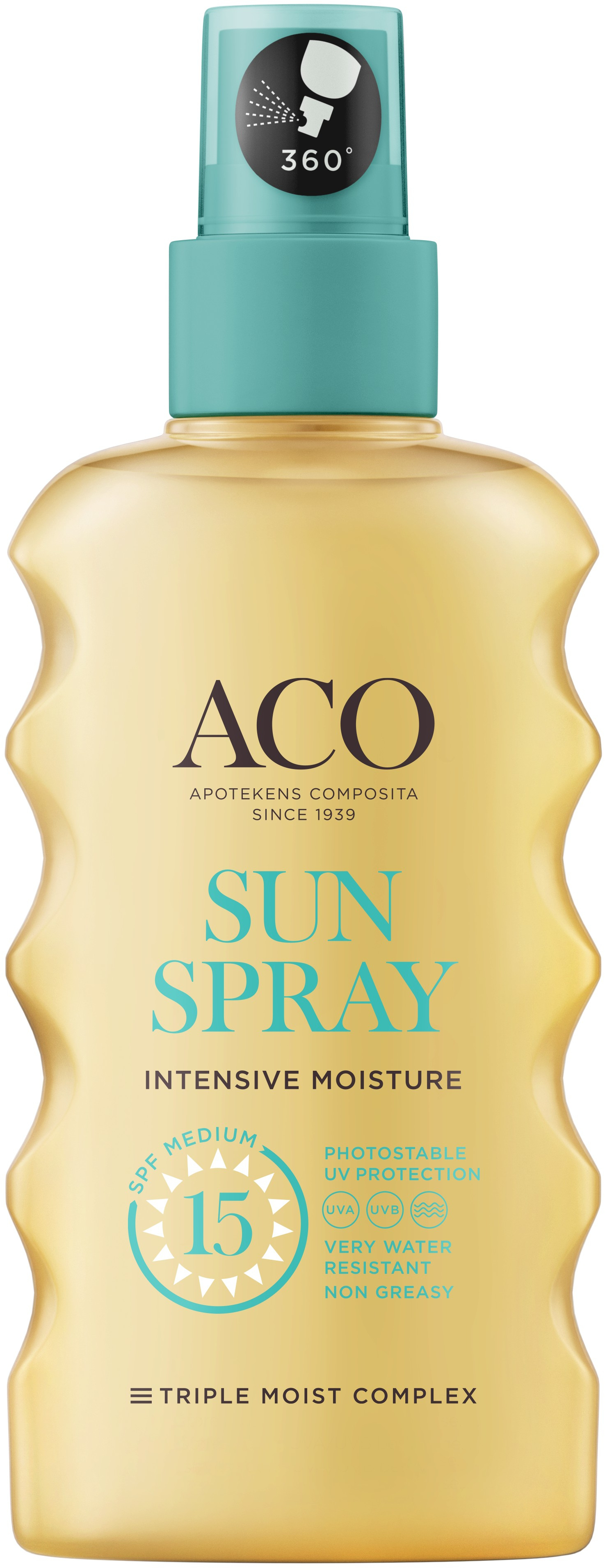 ACO Sun pump spray spf 15 175 ml