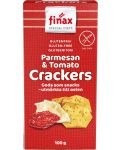 Finax Parmesan & Tomato Crackers 100 g