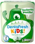 Läkerol DentaFresh Kids Pear 55 g