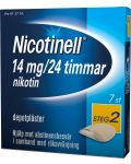 Nicotinell Plåster 14 mg 7 st