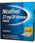 Nicotinell Plåster 21 mg 7 st