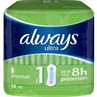 Always Ultra normal 16 st