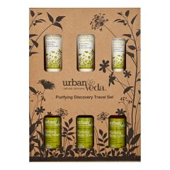 Urban Veda Purifying Complete Discovery Travel Set 200 ml