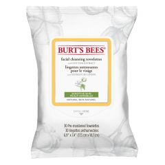 Burt´s Bees Facial Cleansing Towelettes - Sensitive 30 st