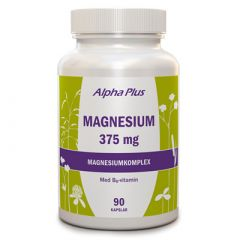 Alpha Plus Magnesium 375 mg 90kap