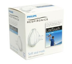 Philips OptiChamber Lite Touch Inhalationsmask Över 5 år Large 1 st