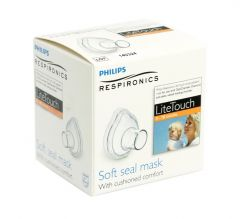 Philips OptiChamber Lite Touch Inhalationsmask 0-18 m Small 1 st