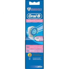 Oral-B Sensitive Clean Borsthuvud Refill 2 st