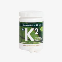 Grønne Vitaminer K2 vegan 90 tabletter