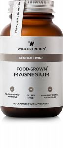 Wild Nutrition FOOD-GROWN® Magnesium 60 st