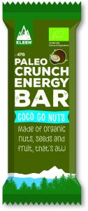 Kleen Paleo Crunch Energy Bar Coco Go Nuts 47 g
