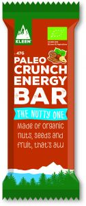 Kleen Paleo Crunch Energy Bar The Nutty One 47 g