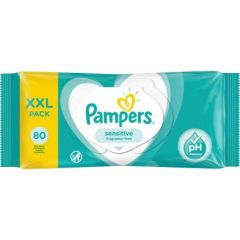Pampers Sensitive Wipes 80 st