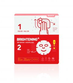 MEDIUS Ampoule Synergy Mask Brightening Plus (2-pack)