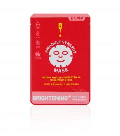 MEDIUS Ampoule Synergy Mask Brightening Plus 1 st
