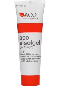 ACO Alsolgel 10ml/g Gel 30 g
