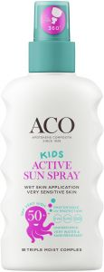 ACO Sun kids pump spray spf 50+ 175 ml