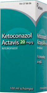Ketoconazol Actavis 20 mg/g 100 ml