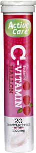 Active Care C-vitamin hallon 20 st