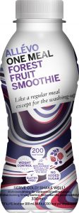 Allévo Smoothie med protein forest fruit 330 ml
