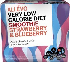 Allévo Smoothie Strawberry & Blueberry 20 st