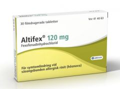 Altifex filmdragerade tabletter 120 mg, 30st