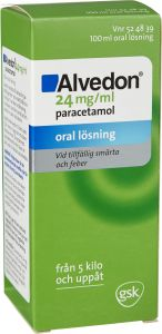 Alvedon Oral Lösning 24 mg/ml 100 ml