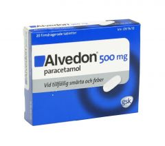 Alvedon tabletter 500mg, 20st