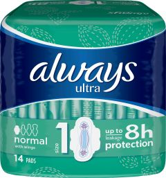 Always Ultra normal wings 14 st