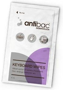 Antibac Keyboard Wipes 10 st