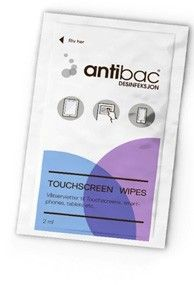 Antibac Touchscreen Wipes 12 st