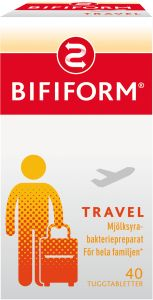 Bifiform Travel tuggtablett 40 st