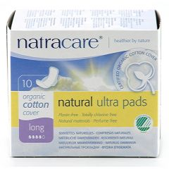 Natracare Ultra Pads Long EKO 10 st