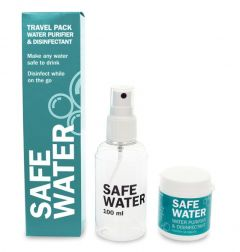 BioCool Safe Water Travel Pack 50 st