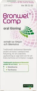 Bronwel Comp oral lösning, 120 ml