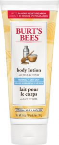 Burt´s Bees Milk & Honey Body Lotion 170 g