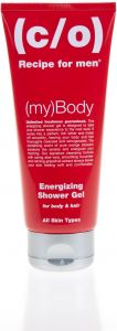 C/O Recipe for men Energizing shower gel 200 ml