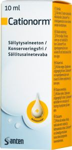 Cationorm Ögondroppar flaska 10 ml