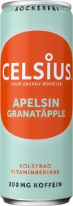 Celsius Apelsin & granatäpple 355 ml