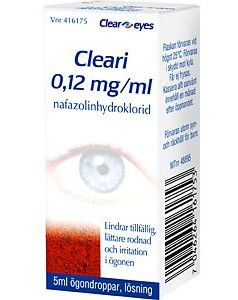Cleari Ögondroppar 0,12mg/ml, 5ml