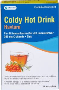 Coldy Hot drink havtorn 14 st