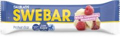 Dalblads Swebar white chocholate & raspberry 50 g