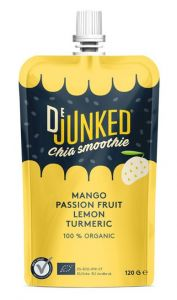 DeJunked Chia Smoothie Mango Passionsfrukt 150 g