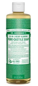 Dr Bronner Almond Liquid Soap 475 ml