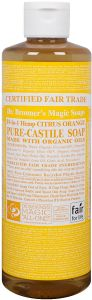 Dr. Bronner Citrus Orange Liquid Soap 475 ml
