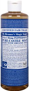 Dr. Bronner Peppermint Liquid Soap 475 ml