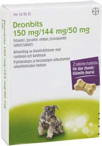 Dronbits tablett 150mg/144 mg/ 50 mg 2 st