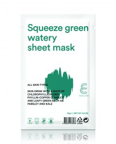 E Nature Squeeze Green Watery Sheet Mask 25 g